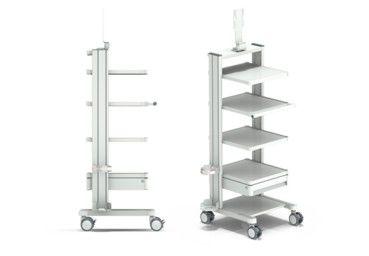 Endoscopy trolley / medical device Lemke