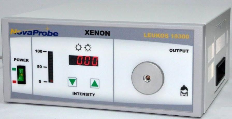 Xenon light source / endoscope / cold 300 W | Leukos 10300 NovaProbe