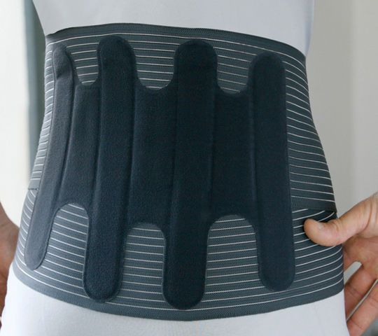 Sacral support belt / lumbar / lumbosacral (LSO) / with reinforcements LombaSkin® Thuasne