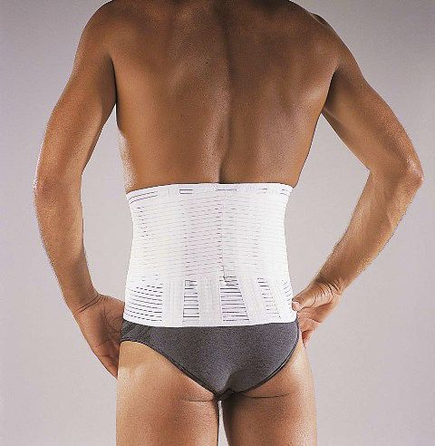 Sacral support belt / lumbar / lumbosacral (LSO) / with reinforcements Dynacross Activity® Thuasne