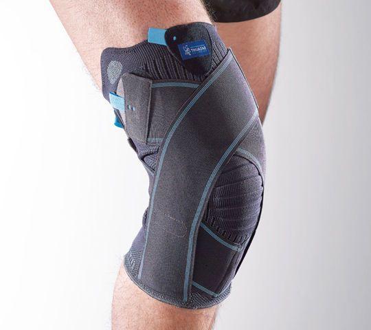 Knee orthosis (orthopedic immobilization) / with flexible stays Ligastrap® Genu Thuasne