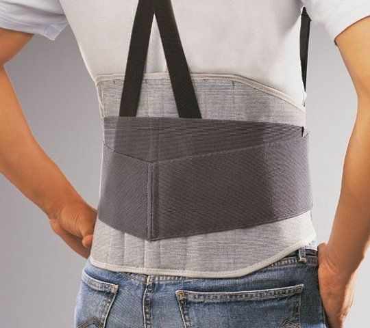 Lumbar support belt / with reinforcements / with suspenders Lombax Activity Thuasne