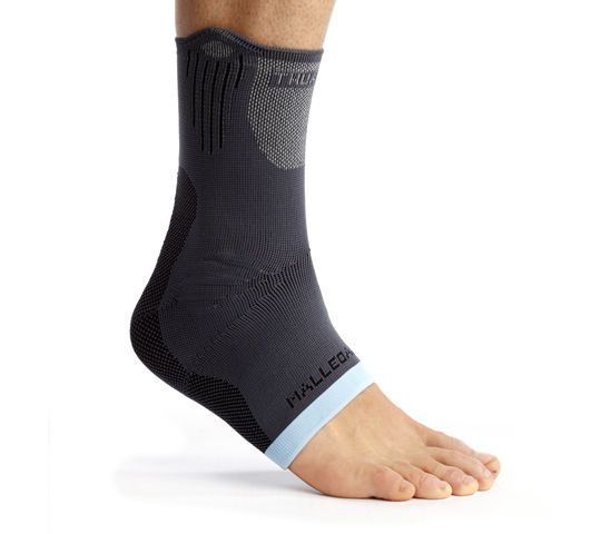 Ankle sleeve (orthopedic immobilization) / with malleolar pad MalleoAction® Thuasne