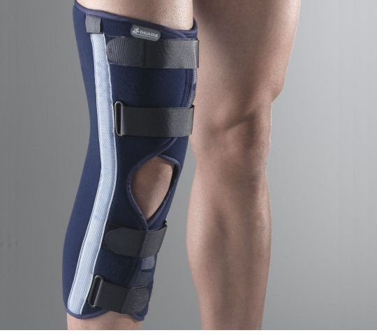 Knee splint (orthopedic immobilization) / 20° knee flexion Ligaflex Immo Thuasne