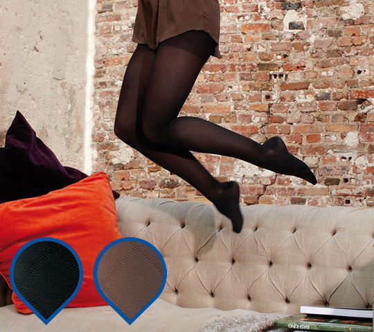 Stockings (orthopedic clothing) / compression / woman Venoflex Kokoon® Losanges Thuasne