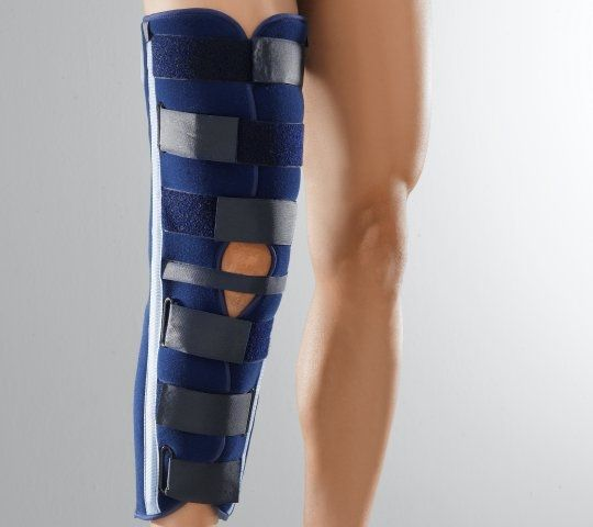 Knee splint (orthopedic immobilization) / immobilisation Ligaflex Immo Thuasne
