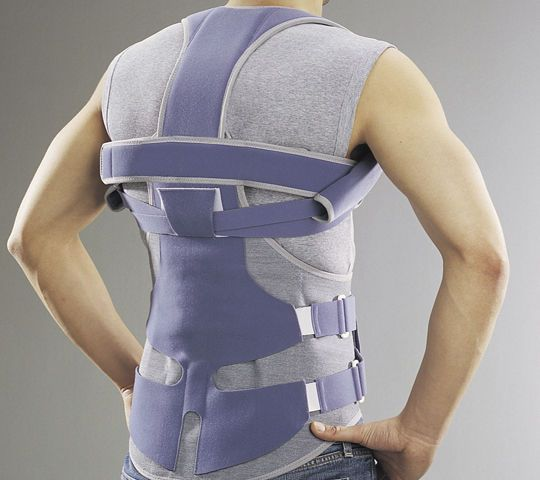 Thoracolumbosacral (TLSO) support corset Lombax® Dorso Thuasne