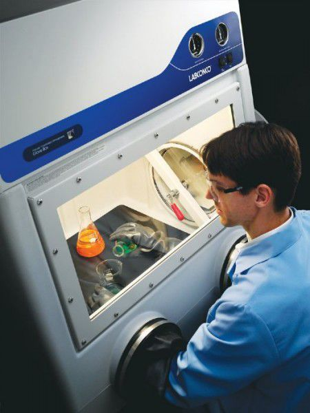 Class III isolator / glove box / with controllable atmosphere Precise Labconco