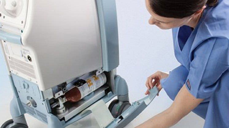 Cardiac assist pump control unit CARDIOSAVE® Rescue MAQUET