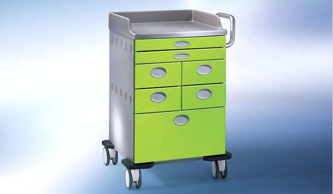 Multi-function trolley / with drawer MODULIT LOGO MAQUET