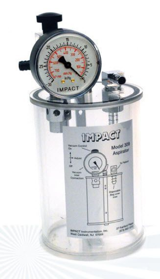 Electric mucus suction pump / ambulatory 309 Impact Instrumentation
