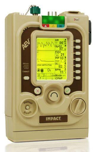 Resuscitation ventilator / CPAP AEV® Impact Instrumentation