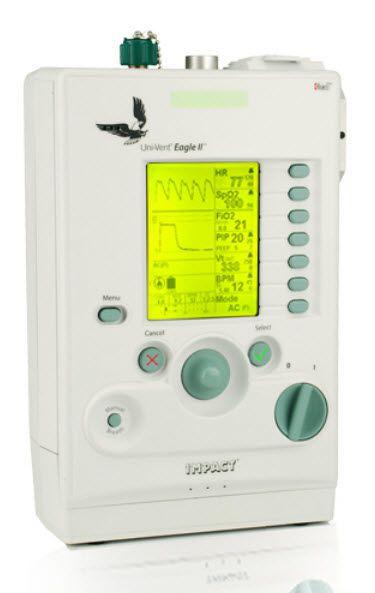 Resuscitation ventilator / CPAP Eagle II™ Impact Instrumentation
