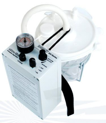 Electric mucus suction pump / handheld 320, 320 GR Impact Instrumentation