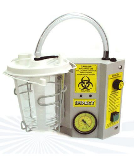 Electric mucus suction pump / ambulatory 324 Impact Instrumentation