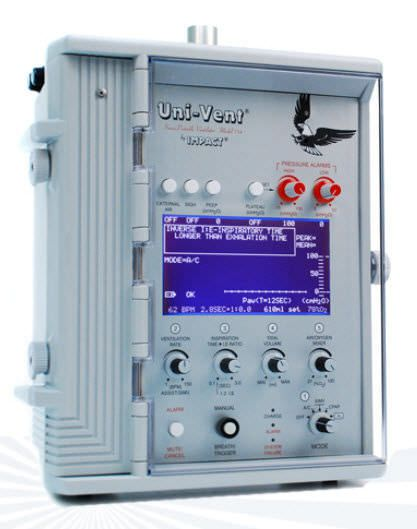 Resuscitation ventilator 754 Eagle™ Impact Instrumentation