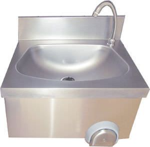 Stainless steel surgical sink LAV004 Lory Progetti Veterinari
