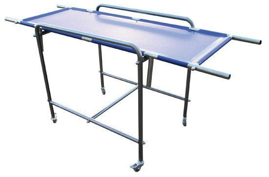 Veterinary stretcher / stainless steel / on casters BAR001 Lory Progetti Veterinari