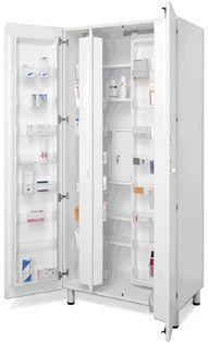 Storage cabinet / for veterinary clinics / pharmacy AR001 Lory Progetti Veterinari