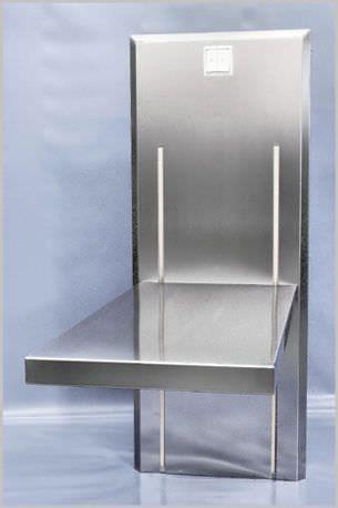 Veterinary examination table / electrical / height-adjustable / lifting 450 600 Hedo Medizintechnik