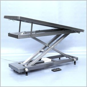 Veterinary examination table / electrical / mechanical / height-adjustable 260 026 Hedo Medizintechnik
