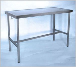 Veterinary examination table / fixed / 1-section 400 100, 400 100-2 Hedo Medizintechnik