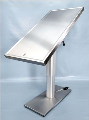 Veterinary examination table / mechanical / hydraulic / fixed 475 000, 475 500 Hedo Medizintechnik