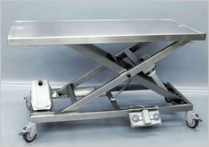 Veterinary examination table / electrical / mechanical / lifting 260 505 Hedo Medizintechnik