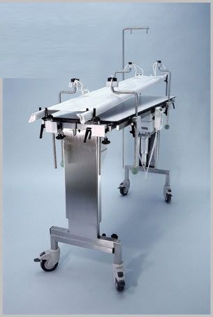 Veterinary operating table / mechanical / on casters 102 000 06 Hedo Medizintechnik