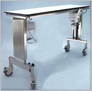 Veterinary operating table / electrical / mechanical / height-adjustable 102 000 Hedo Medizintechnik