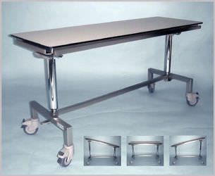 Veterinary operating table / on casters / lifting / reclining 101 460 Hedo Medizintechnik