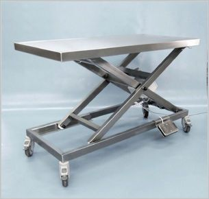 Veterinary examination table / mechanical / electrical / lifting 260 500 Hedo Medizintechnik