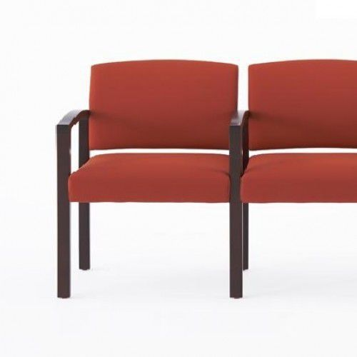 Beam seat / for waiting room / with armrests / with backrest Fairmont 504.2, Fairmont 504.2L Campbell Contract