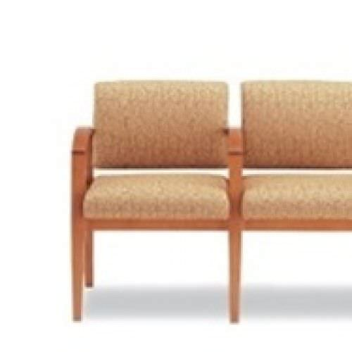 Beam seat / for waiting room / with armrests / with backrest Westport Tandem 503.3 Campbell Contract