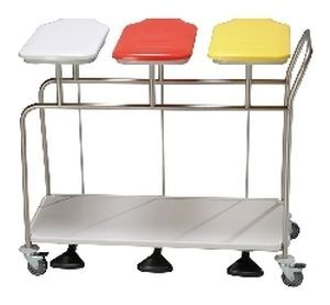Linen trolley / 3-bag HYGI-CAR II Sclessin Productions