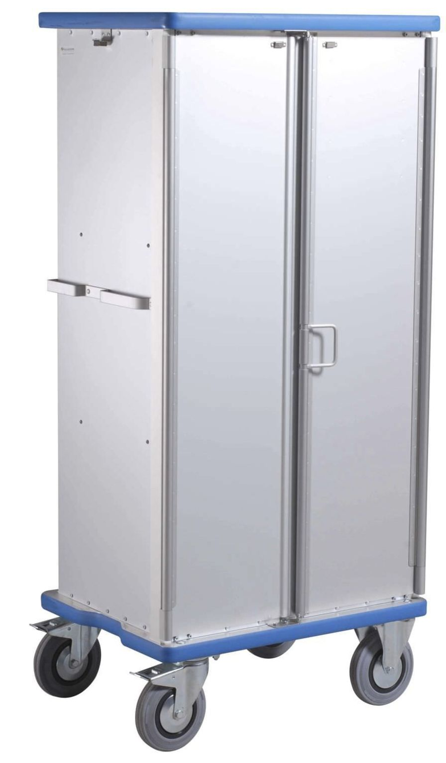 Medical cabinet / clean linen / for healthcare facilities / 2-door E2725 Sclessin Productions