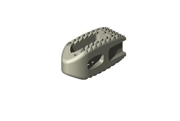 Thoraco-lumbar interbody fusion cage ALEUTIAN® K2M