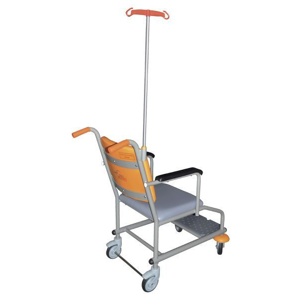 Non-magnetic patient transfer chair Manchester 9002177 Acime Frame