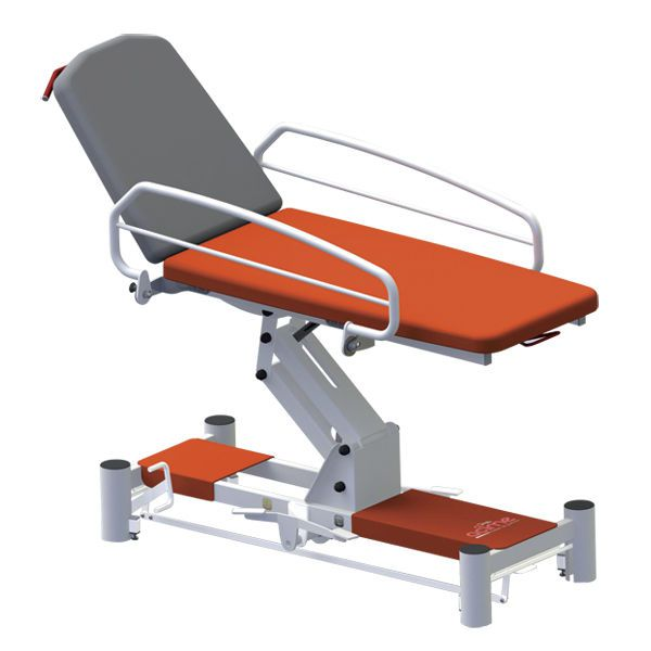 Hydraulic examination table / height-adjustable / 2-section Néo Acime Frame