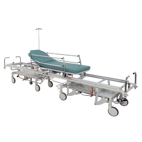 Patient transfer stretcher trolley / mechanical / 2-section Hyperbar Acime Frame