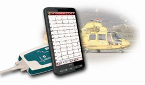Smartphone-based electrocardiograph / digital / 12-channel Easy ECG Mobile Ebneuro