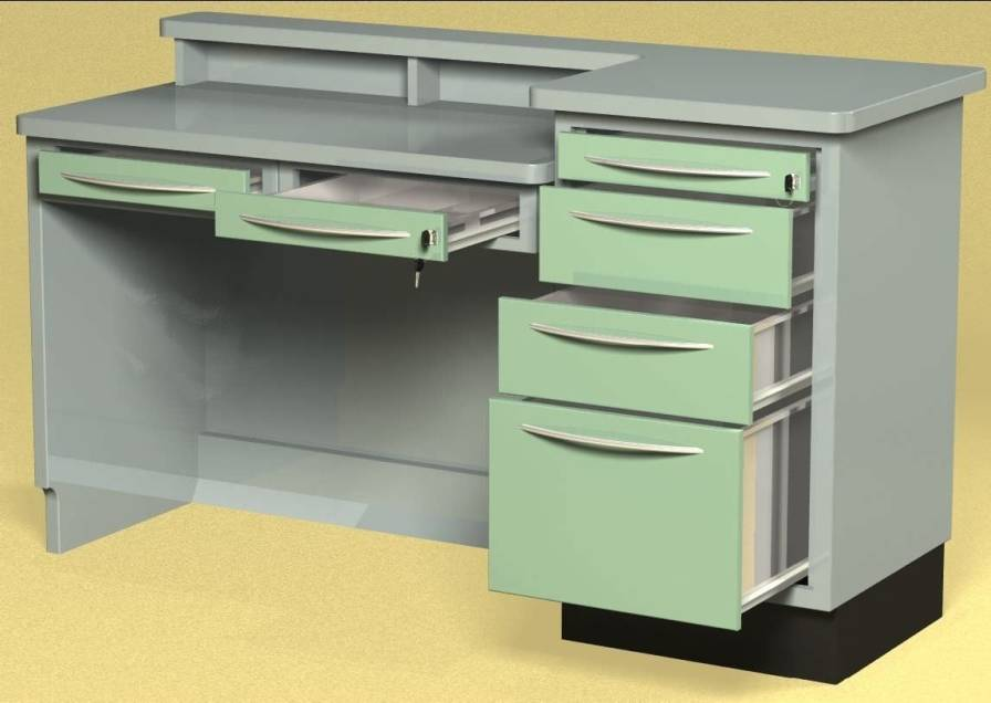 Healthcare facility worktop / with drawer W78 Farum