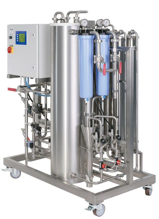 Reverse osmosis water treatment plant / hemodialysis MODULA S-XL | 1400 ? 3500 l/h DWA