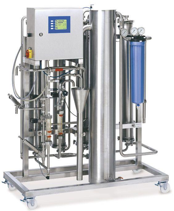 Hemodialysis water treatment plant / reverse osmosis MODULA S | 350 ? 1750 l/h DWA