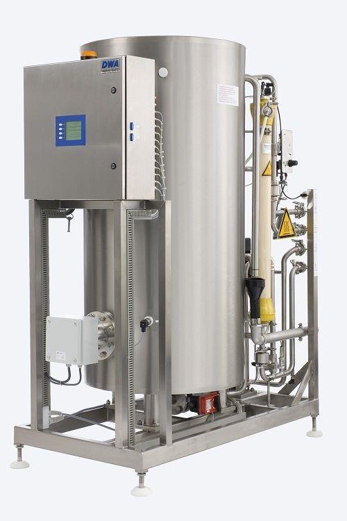 Hot water rinse water treatment plant / hemodialysis NEPHRO SAFE DWA