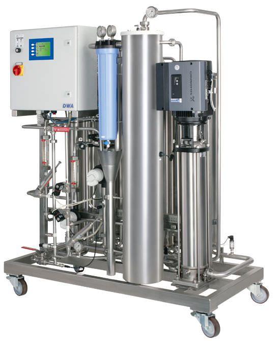 Reverse osmosis water treatment plant / hemodialysis MODULA S-TP | DWA