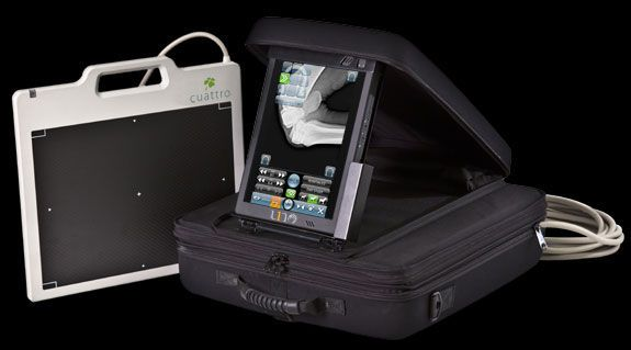 Digital medical radiography acquisition system / for veterinary dental radiography / portable UNO SLATE Cuattro Europe