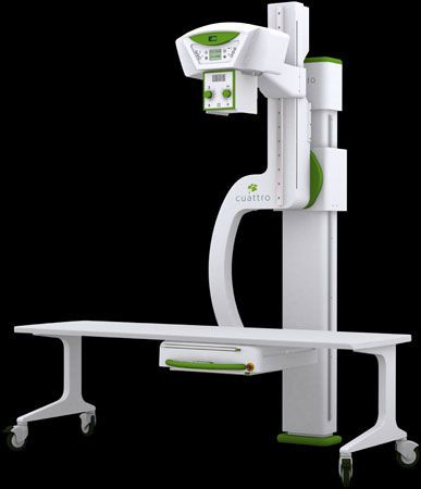 Radiography system (X-ray radiology) / digital / for multipurpose radiography / with mobile table URS U-ARM Cuattro Europe