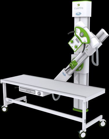 Radiography system (X-ray radiology) / digital / for multipurpose radiography / with mobile table URS X-ARM Cuattro Europe