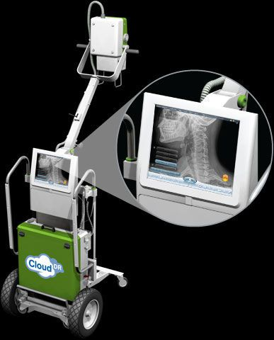 Analog mobile radiographic unit / human Cuattro Europe